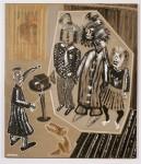 2002  PORTRAIT DE FAMILLE  180x210cm  acrylique et technique mixte sur toile