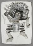 2009  SANS TITRE 1  80x60cm  acrylique sur papier